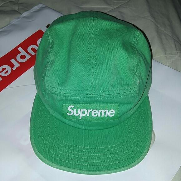 3710c47b281a Supreme Accessories | Washed Chino Twill Camp Hat | Poshmark